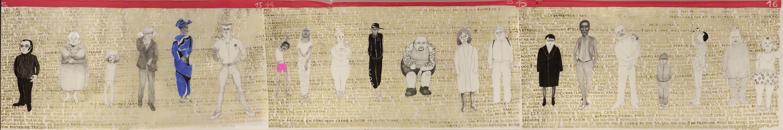 Brigitte Lurton 2016technique mixte sur papier calque